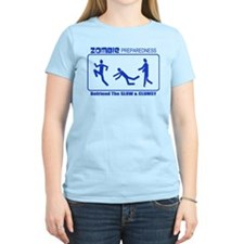 Zombie Preparedness Befriend Slow Clumsy T-Shirt
