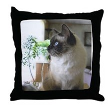 """Cat"" Throw Pillow"