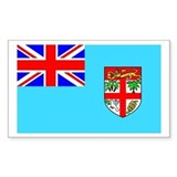 Fiji Rectangle Bumper Stickers