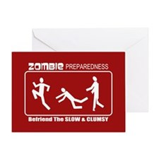 Zombie Preparedness Befriend Slow Clumsy Greeting