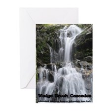 Wedge Brook Cascades Greeting Cards (Pk of 10)