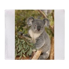 Unique Koala bear Throw Blanket
