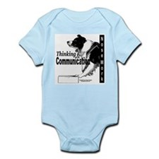 Nose work search border collie Infant Bodysuit