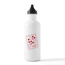 Valentine Hearts Water Bottle
