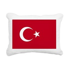 Turkish Flag Rectangular Canvas Pillow