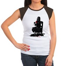 Girl with red rose Tee