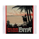 San Stefano Hotel Egypt Throw Blanket