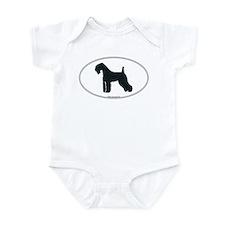 Kerry Blue Silhouette Infant Bodysuit