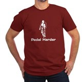 Pedal Harder Cycling Jens Cadel Shirt T