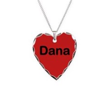Dana Red Heart Necklace Charm