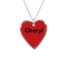 Cheryl Red Heart Necklace Charm