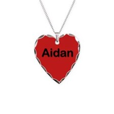 Aidan Red Heart Necklace Charm