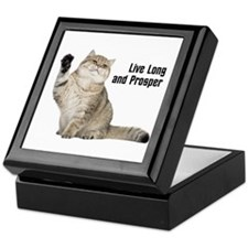 Vulcan Cat Keepsake Box