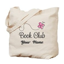 Personalized Book Club Cute Tote Bag