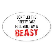 I AM A BEAST Decal