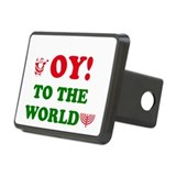 OY! to the World Rectangular Hitch Cover