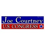 Joe Courtney for Congress bumper sticker