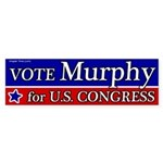 Chris Murphy for Congress bumper sticker