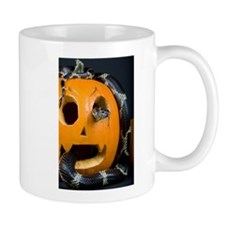 Black Snake in Pumpkin Mug