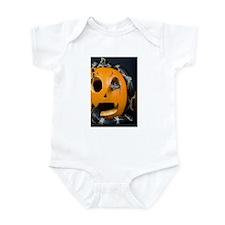 Black Snake in Pumpkin Infant Bodysuit
