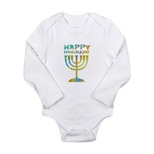 Happy Hanukkah Body Suit