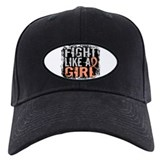 Fight Like a Girl 31.8 Uterine Cancer Shirts Baseball Hat