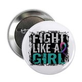 Fight Like a Girl 31.8 Thyroid Cancer Shirts 2.25""