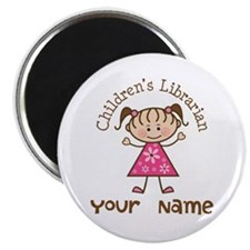 Personalized Children's Librarian Magnet