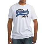 World's Greatest PawPaw Fitted T-Shirt