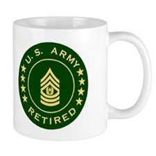 Unique Military retirement Mug