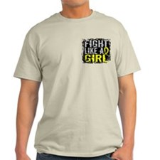 Fight Like a Girl 31.8 Sarcoma T-Shirt