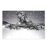 Water, high-speed photograph - Postcards