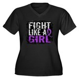 Fight Like a Girl 31.8 Sarcoidosis Women's Plus Si