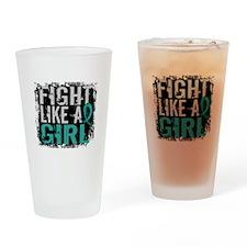 Fight Like a Girl 31.8 Ovarian Cancer Drinking Gla