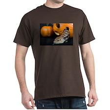 Lizard in Pumpkin Dark T-Shirt