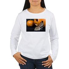 Lizard in Pumpkin Women's Long Sleeve T-Shirt