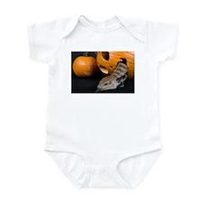 Lizard in Pumpkin Infant Bodysuit