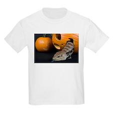 Lizard in Pumpkin Kids Light T-Shirt