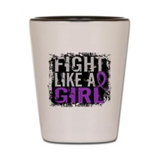Licensed Fight Like a Girl 31.8 Lupus Shot Glass
