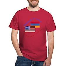 Armenia Birth American Choice T-Shirt