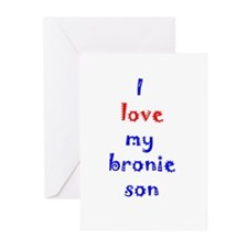 Bronie Son Greeting Cards (Pk of 20)