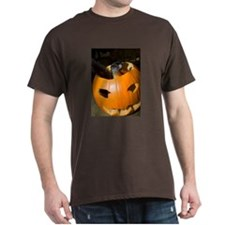 Squirrel in Pumpkin Dark T-Shirt