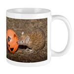Lesser Tenrec with Pumpkin Mug