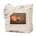 Lesser Tenrec with Pumpkin Tote Bag