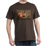 Lesser Tenrec with Pumpkin Dark T-Shirt