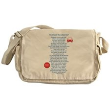 You Passed Road Test Messenger Bag