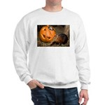 Elephant Shrew With Pumpkin Sweatshirt