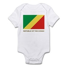 The Republic Of The Congo Flag Gear Infant Bodysui