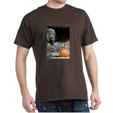 Lemur Pumpkin Dark T-Shirt