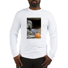 Lemur Pumpkin Long Sleeve T-Shirt